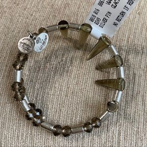 ALEX & ANI Recycled Metal Bracelet Silver Gift New